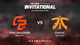 Fire Dragoon против Fnatic, Вторая карта, SEA квалификация SL i-League Invitational S3