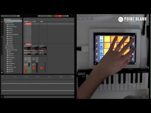 Making Music With iPad Apps (pt 1) – iMaschine / Korg MS-20 / Animoog / GarageBand / BeatShuffler