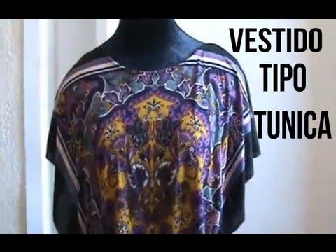 Como Hacer Un Vestido Tipo Tunica