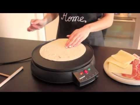 Crepiera elettrica - Electric crepe maker