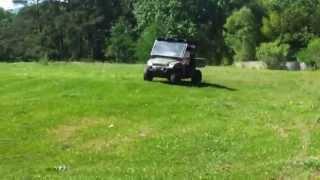 10. Bill's big jump on the Ranger 700