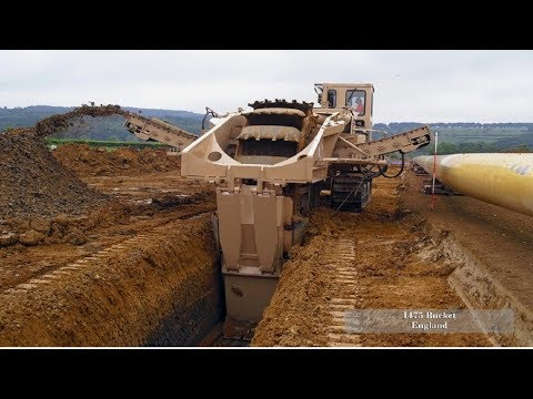 Extreme Heavy Excavator Working Fastest Skill, Mega Largest Trenchers Machines Latest Technology