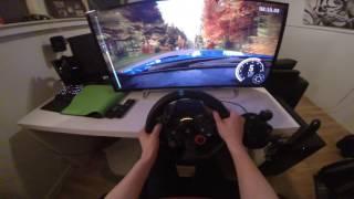 Dirt Rally PS4 Gameplay #4 POV G29