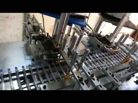 Ballpen backplug assembly machine - 2 up