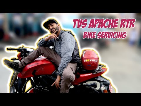 (TVS Apache RTR 200 Servicing | Motivational Speech at Letang - Duration: 9 minutes, 10 seconds.)