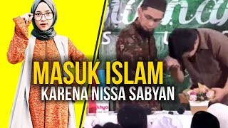 Video MASYAALLAH‼️ Pemuda Ini Masuk Islam karena Shalawat Nissa Sabyan - Ustadz Adi Hidayat LC MA MP3, 3GP, MP4, WEBM, AVI, FLV Juni 2019