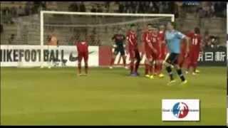 Uruguay vs Jordania, los 5 goles. 13 noviembre 2013