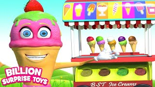 Video Ice cream Song | BST Kids Songs & Nursery Rhymes MP3, 3GP, MP4, WEBM, AVI, FLV Januari 2019