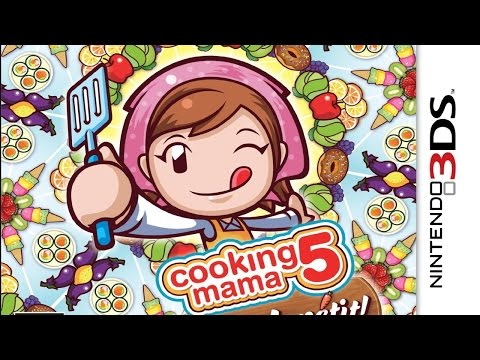 Cooking Mama 5 Bon Appetit Gameplay {Nintendo 3DS} {60 FPS} {1080p}