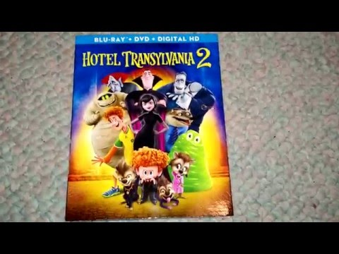 Hotel Transylvania 2 - Blu-Ray/DVD Combo Pack - Unboxing!