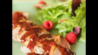 Videoricetta: anatra in salsa di lamponi