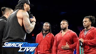 Video The Usos offer The New Day a truce: SmackDown LIVE, Oct. 10, 2017 MP3, 3GP, MP4, WEBM, AVI, FLV Juni 2018