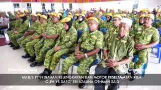 Pasukan RELA Parlimen Pengerang Terima 14 Buah Motorsikal dan Kelengkapan Lain