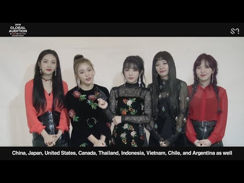 [MESSAGE FROM. Red Velvet] 2018 SM GLOBAL AUDITION (видео)