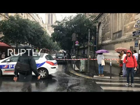 LIVE from Paris as shootings reported at Notre Dame cathedral