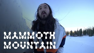 Snowboarding At Mammoth Mountain - On the Road w/ Steve Aoki #144