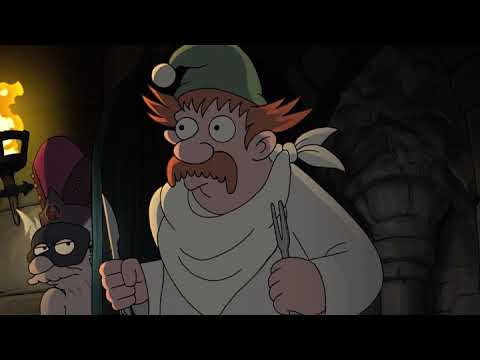 King Zog went crazy seeing Bean and Oona naked - Disenchantment - S03E07 - Bad Moon Rising