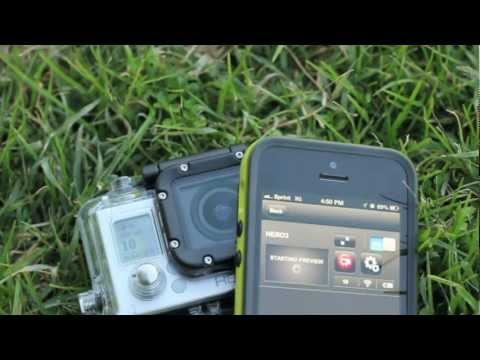 GoPro Hero3 and the GoPro iPhone App