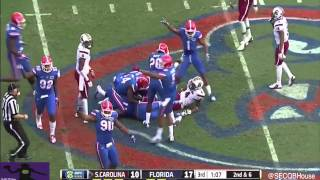 Dylan Thompson vs Florida (2014)