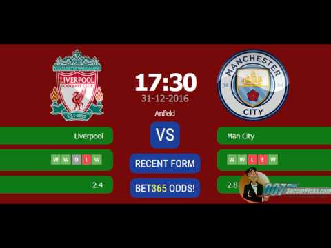 Liverpool Vs Manchester City PREDICTION (by 007Soccerpicks.com)
