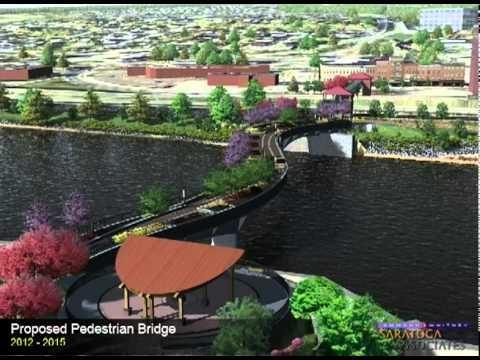 Proposed Pedestrian Bridge over the Mohawk River, Amsterdam, NY