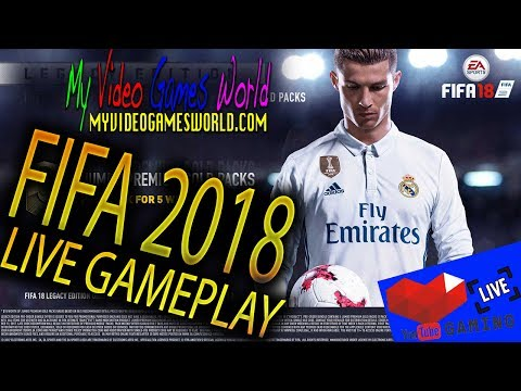 FIFA 2018 | E3 2017 | RONALDO EDITION | LIVE GAMEPLAY | MY VIDEO GAMES WORLD