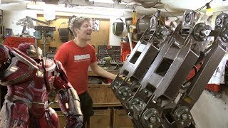 Making the Hulkbuster Part 1-Legs, Huge Hydraulic Legs
