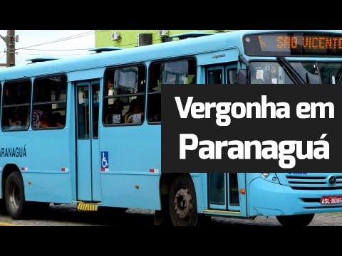 Descaso: Defeito em ônibus constrange cadeirante em Paranaguá