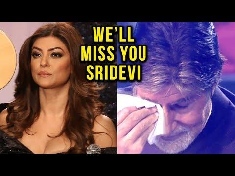 Shah Rukh Khan, Amitabh Bachchan, Sushmita Sen EMO
