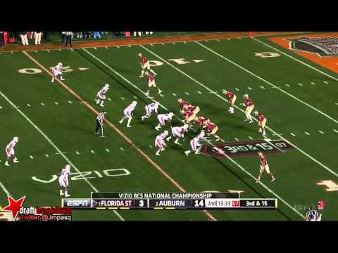 Dee Ford vs Florida St. 2014 (BCS Championship) video.