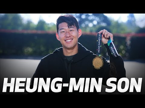 Video: HEUNG-MIN SON RETURNS TO HOTSPUR WAY AFTER ASIAN GAMES GOLD MEDAL!