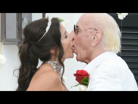 Rick Flair and wendy Barlow 2018 wedding photos