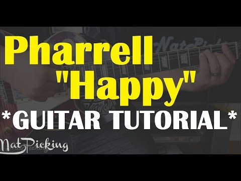 """Happy"" – Pharrell Williams *Guitar Tutorial*"