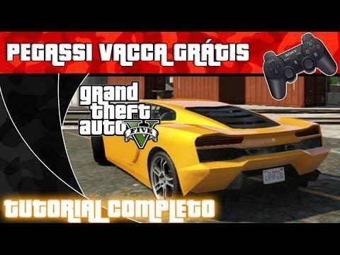 GTA V - PEGASSI VACCA - GRÁTIS - CARRO RARO - TUTORIAL COMPLETO - PORTUGUÊS PT-BR (Sem Spoilers)