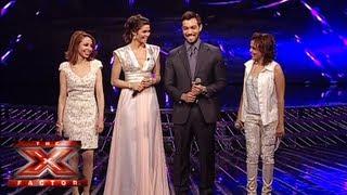 النتائج النهائية - العروض المباشرة - الأسبوع 6 - The X Factor 2013