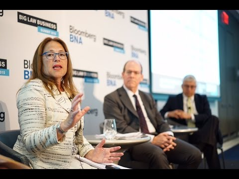 "Law Firm Leaders Panel: Not ""Secure,"" but ""Less Anxious"""
