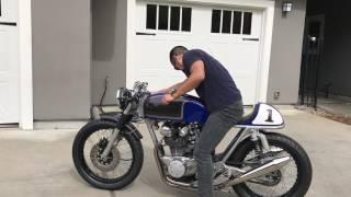 Bild Honda CB 500T Café Racer Startup
