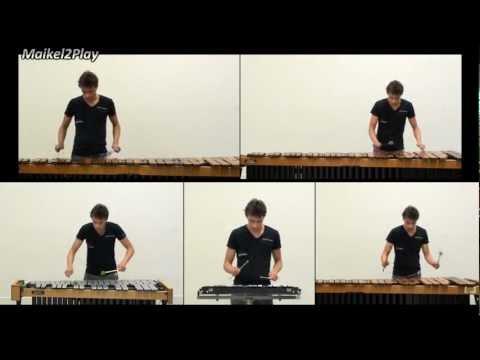 Harry Potter Medley on Marimba