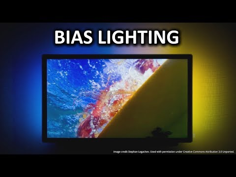 Bias Lighting (Ambient Backlighting) as Fast As Possible