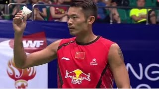 Lin Dan of China plays Nguyen Tien Minh of Vietnam in the Men's Singles semi finals of the Wang Lao Ji BWF World Championships 2013. Subscribe for highlights...