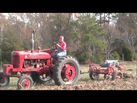 Farmall M Plowing
