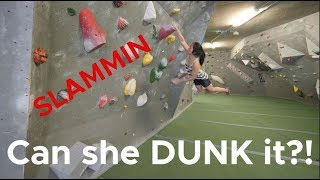 Will they get the DUNK? by Bouldering Bobat