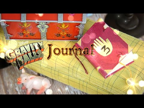 Falls - by request: Part 2 of our Fabsome Gravity Falls Crafts!! Make this Fabsome Journal 3 for your Dolls today!! Happy Crafting! Our Second Channel: http://www.youtube.com/createsomethingfab...