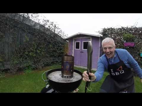Come accendere un barbecue a carbone senza fare fumo?
