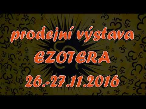 Pozvánka na prodejní výstavu EZOTERA 26.-27.11.2016 v Praze