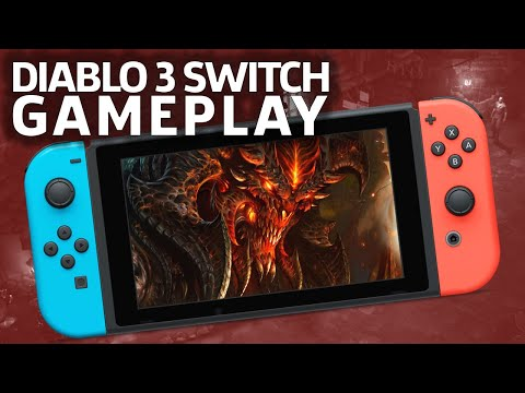 6 Minutes Of Diablo 3: Eternal Collection Gameplay On Switch