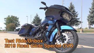 9. Test Ride Unbox Harley Davidson 2019 CVO Road Glide