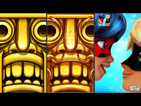Temple Run: Classic! 🏃♀️ VS Temple Run 2 👨🚀 LANTERN FESTIVAL! VS Miraculous Ladybug & Cat Noir 🐞