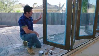 The Home Team S2 - Staining Bi-Fold Doors (Part 2)