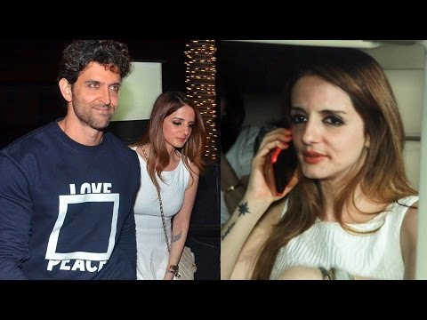 Video Ex-Wife Sussanne At Hrithik Roshan's Birthday Party 2017 download in MP3, 3GP, MP4, WEBM, AVI, FLV January 2017